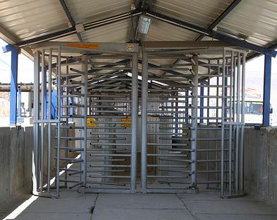 Photo of Israeli checkpoint