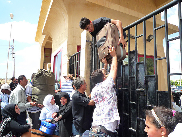 Photo of Rafah Crossing by Vince Perritano