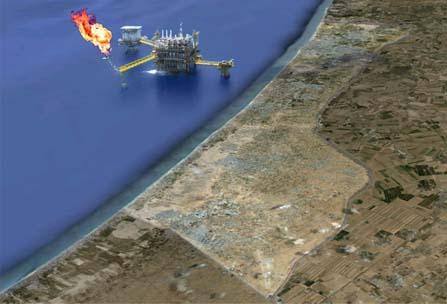 Gaza gas illustration
