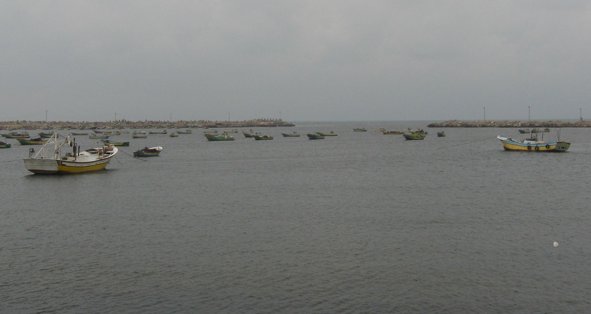 Photo of Gaza coast