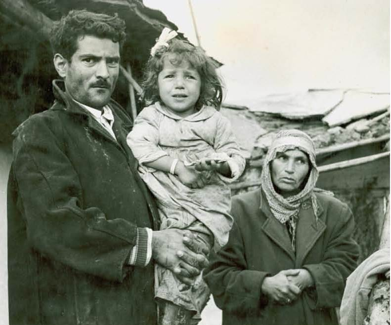 Photo of refugees. Photo courtesy of UNRWA.