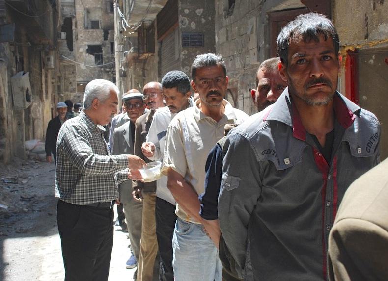 Photo of Yarmouk Camp