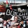 BDS protest in California