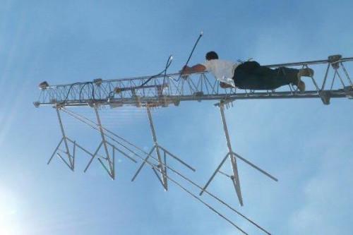 Ramallah Antenna installation 11