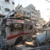 gaza political humanitarian crisis