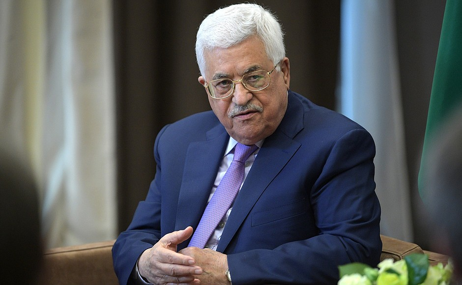 abbas on gaza