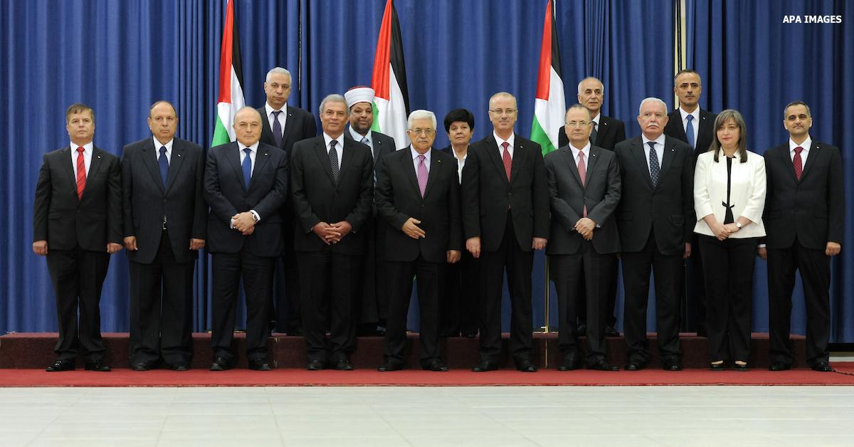 Palestinian leadership PLO Abbas