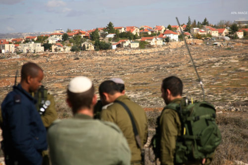 annexation jerusalem settlements