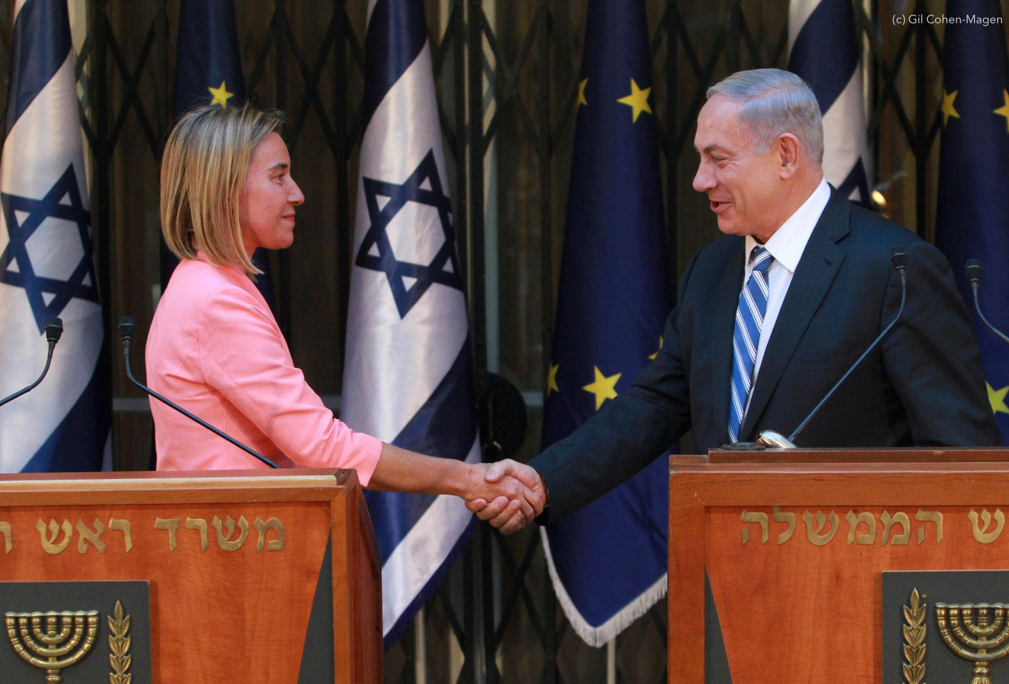 EU Jerusalem Netanyahu Mogherini