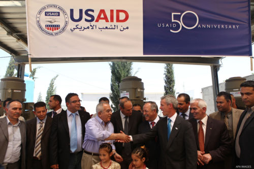 donor aid Palestine effectiveness