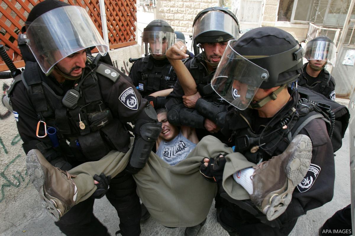 torture israeli arrest palestinian prisoner