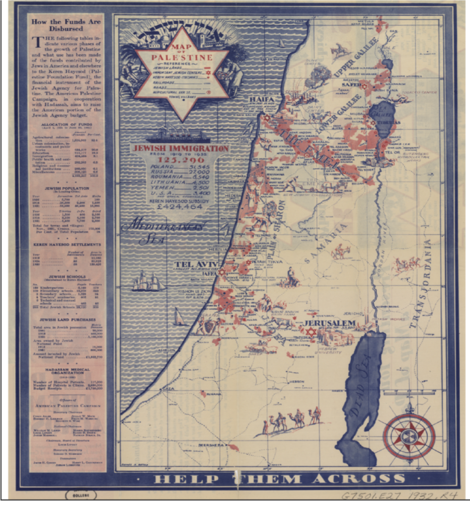 Palestine and the Oppression of the Map