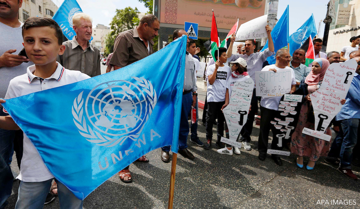 UNRWA palestinians
