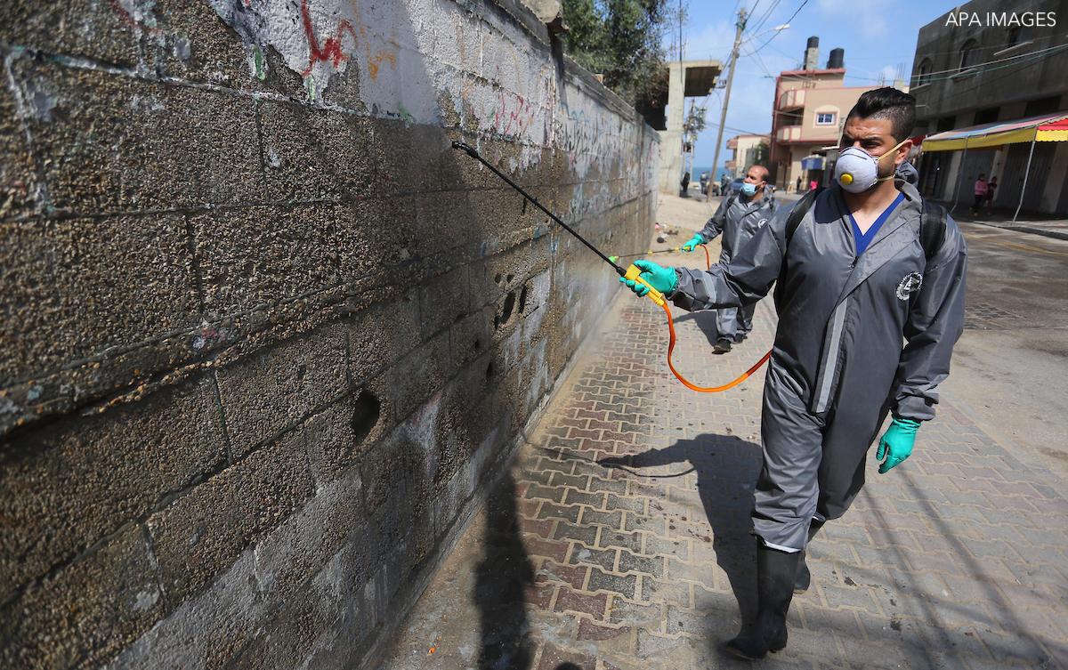 covid-19 in palestine