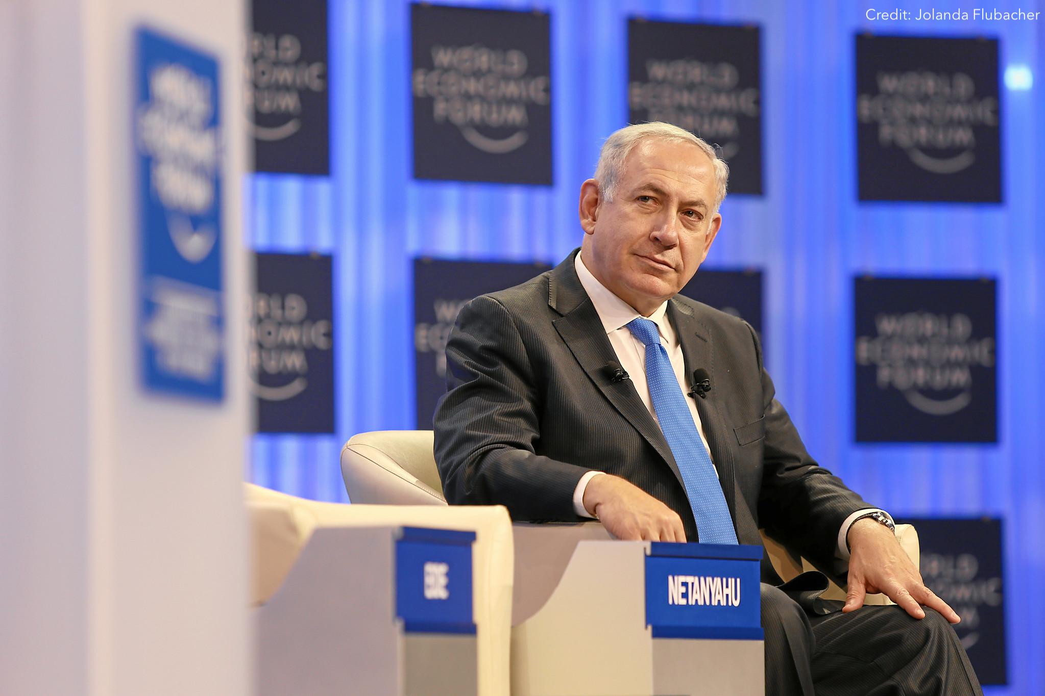 netanyahu palestine israel
