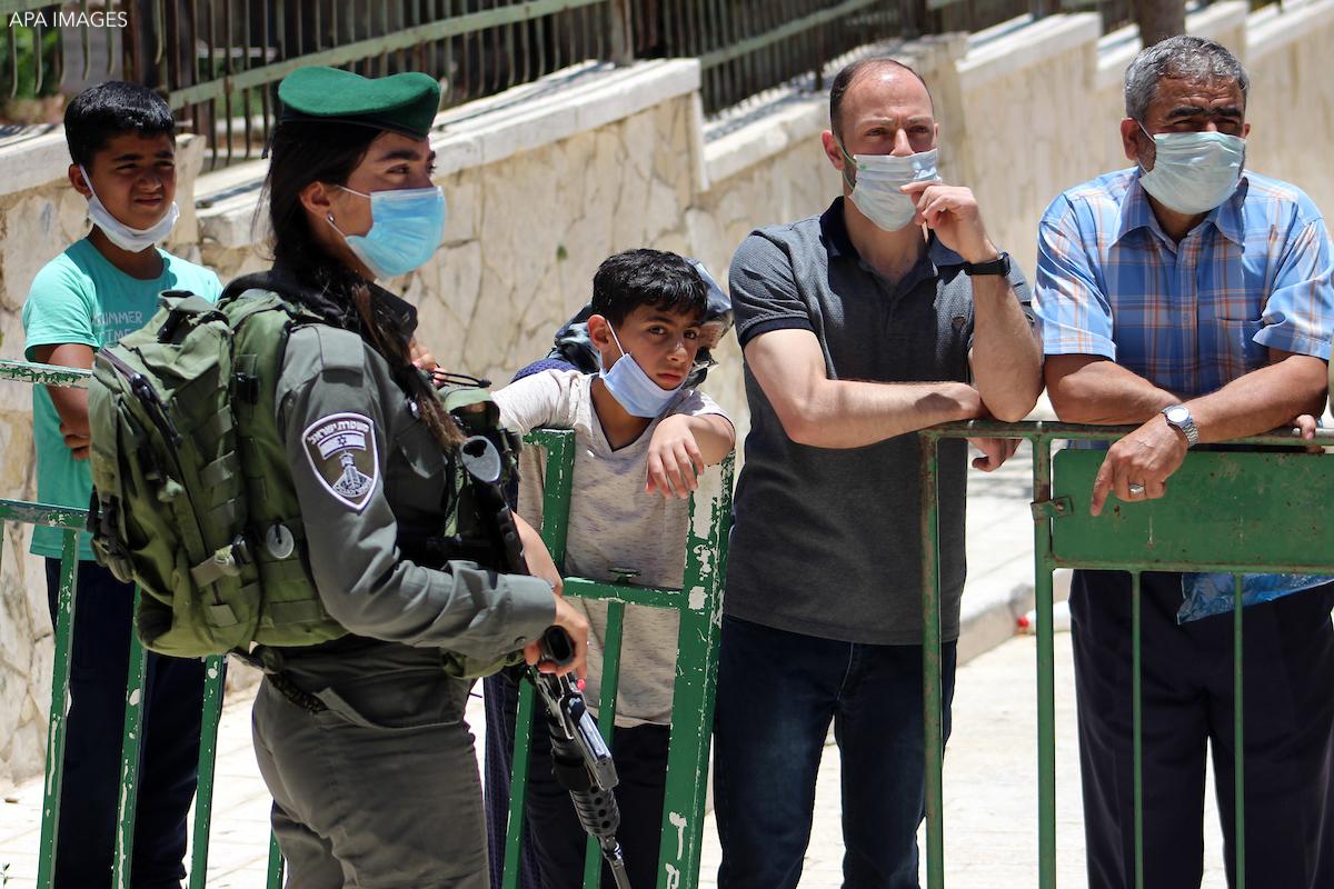 Israel Palestinian Health COVID-19