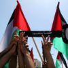 Palestinian leadership PLO rally Nakba