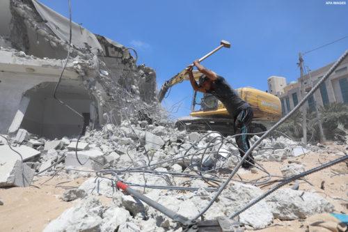 آلية جديدة لإعمار غزة